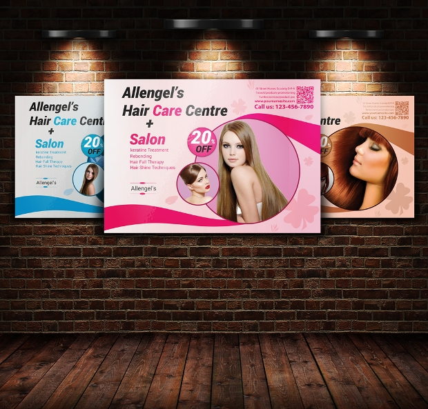 Hair Salon Product Flyer