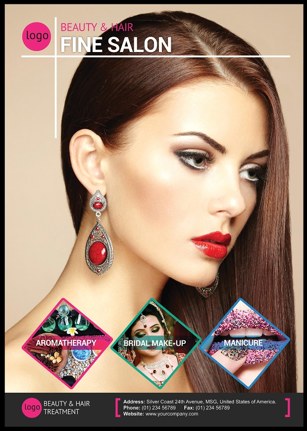 29  hair salon flyer templates and designs