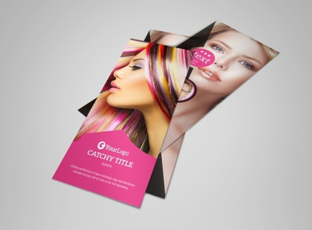 Stylish Hair Salon Flyer