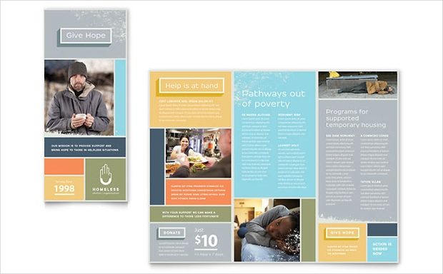 16 Charity Brochures Free Psd Ai Indesign Vector Eps Format