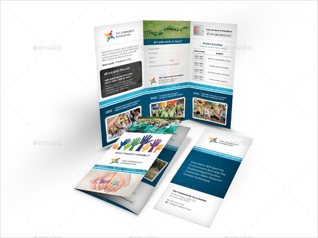 16  charity brochures