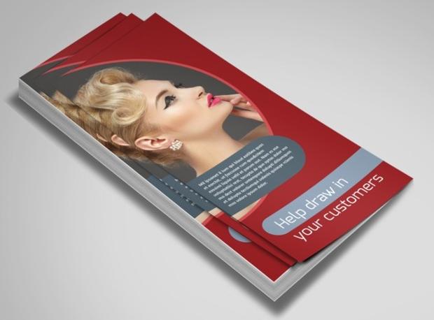 Fancy Hair Salon Flyer