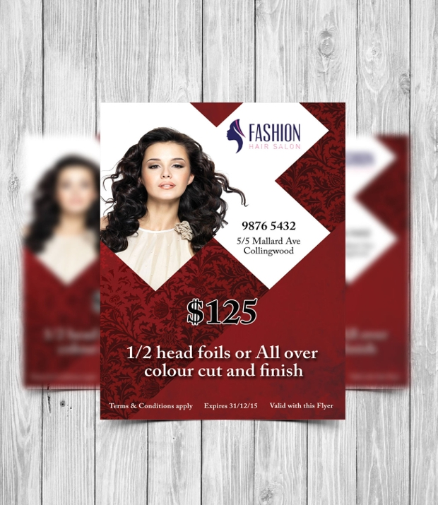 Printable Hair Salon Flyer