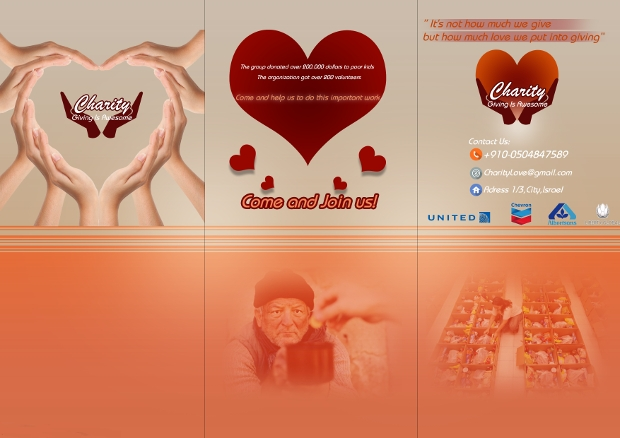 charity organization brochure1
