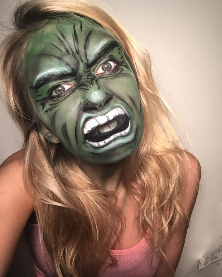 15 Hulk Makeup Designs Trends Ideas Design Trends Premium Psd