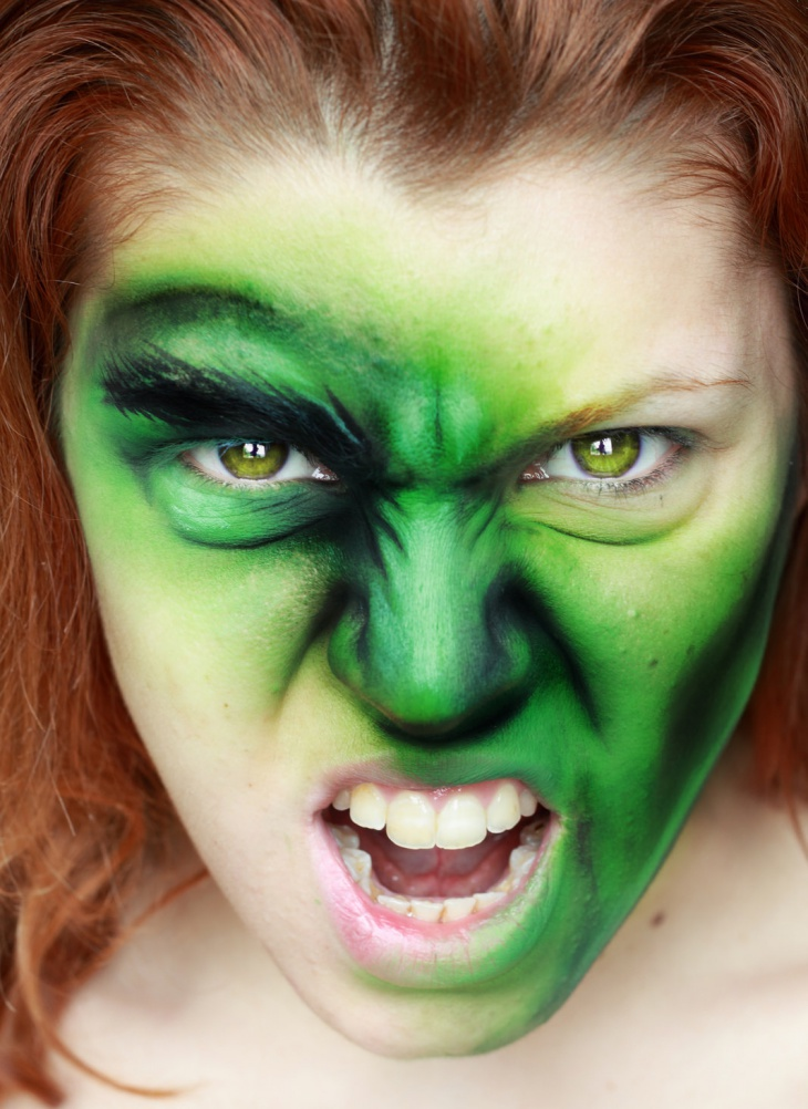 Scary Hulk Makeover