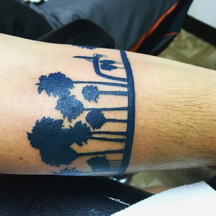 21 palm tree tattoo designs ideas design trends
