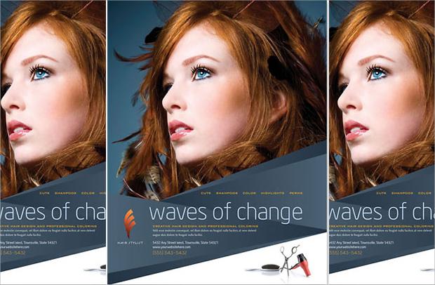 27 Hair Salon Flyer Templates Printable Psd Ai Vector Eps