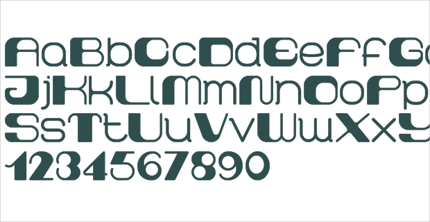 rounded block font