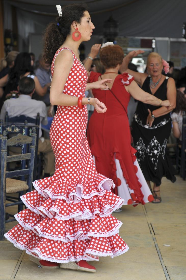 17 flamenco dress designs ideas design trends for Flamenco style wedding dress