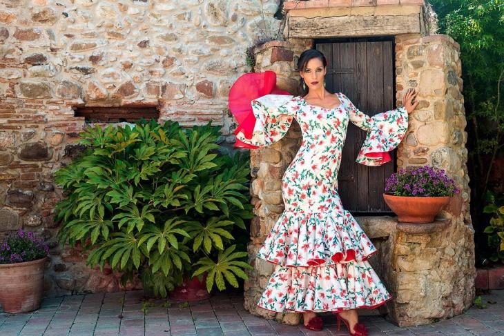 flamenco prom dress design
