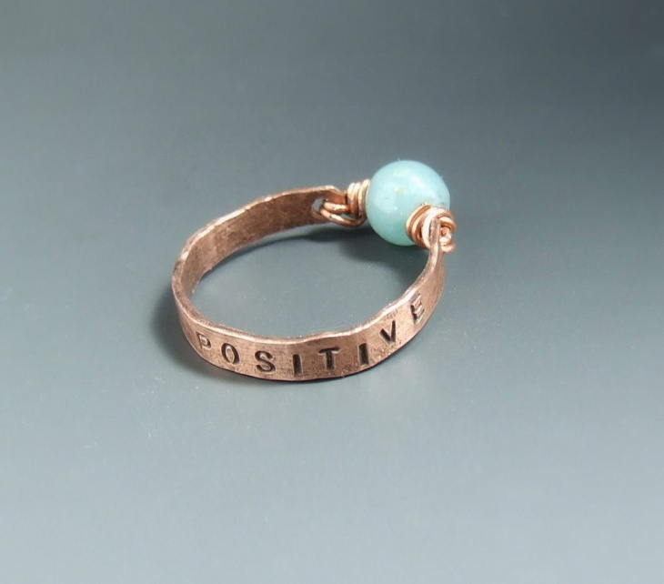Positive Message Ring Design