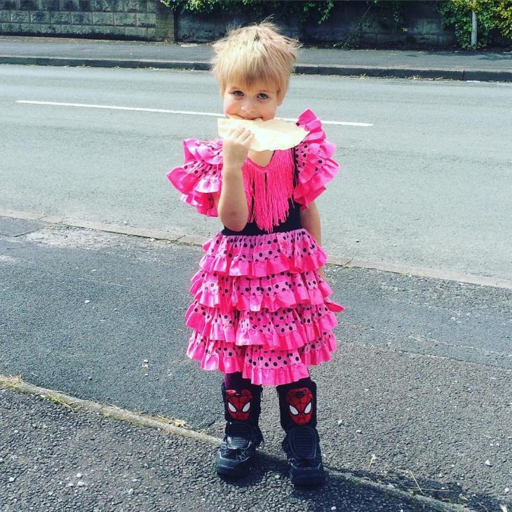 kids flamenco dress idea