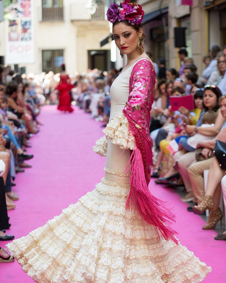 fashionable flamenco dress