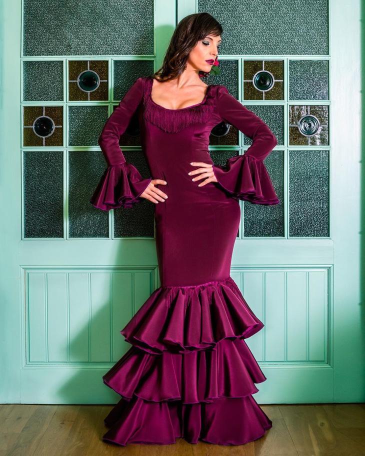 full sleeve flamanco dress