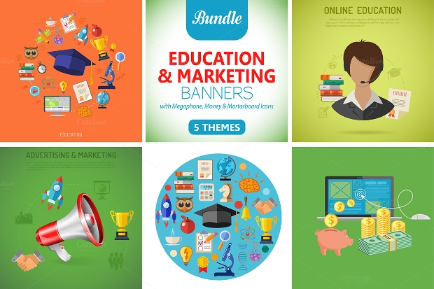 Education Marketing Banners