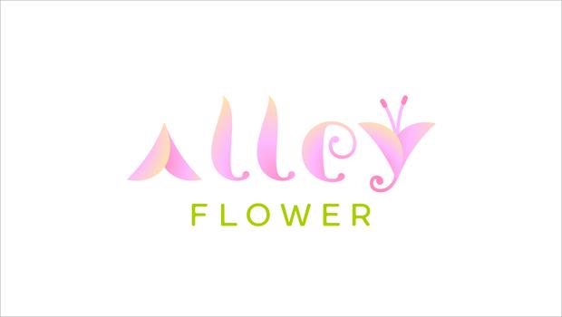 alley flower logo