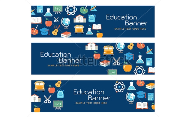 21 Education Banner Designs Psd Ai Apple Pages Eps Vector