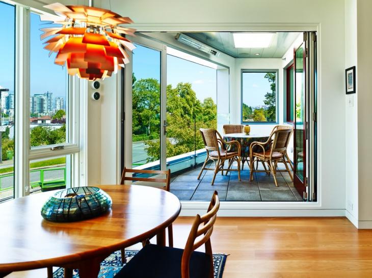 Sunroom Wood Flooring