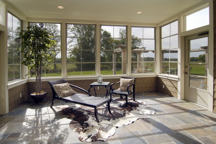 17 Sunroom Flooring Designs Ideas Design Trends
