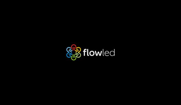 flow led logo design