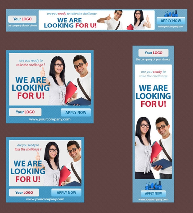 College Web Marketing Banners
