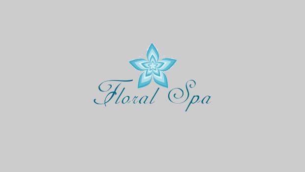 floral spa logo
