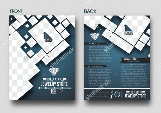 Jewelry Store Back Flyer