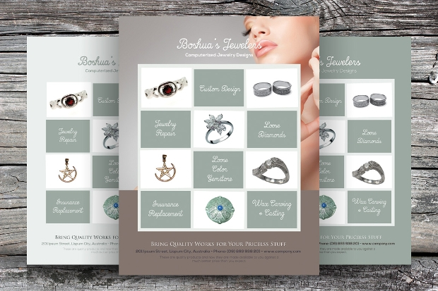 High Resolution Jewelry Flyer