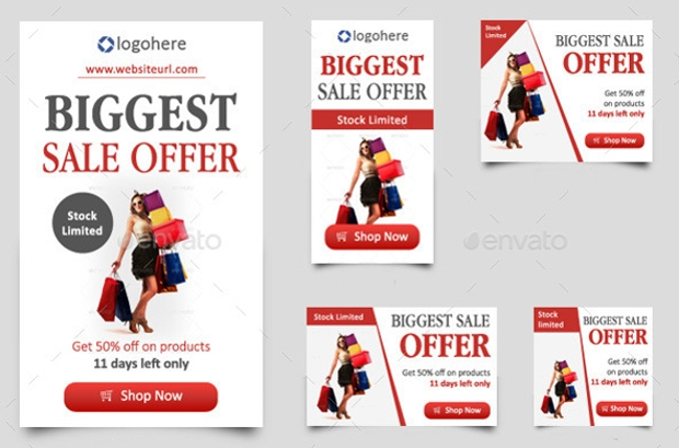 big sale offer web banner