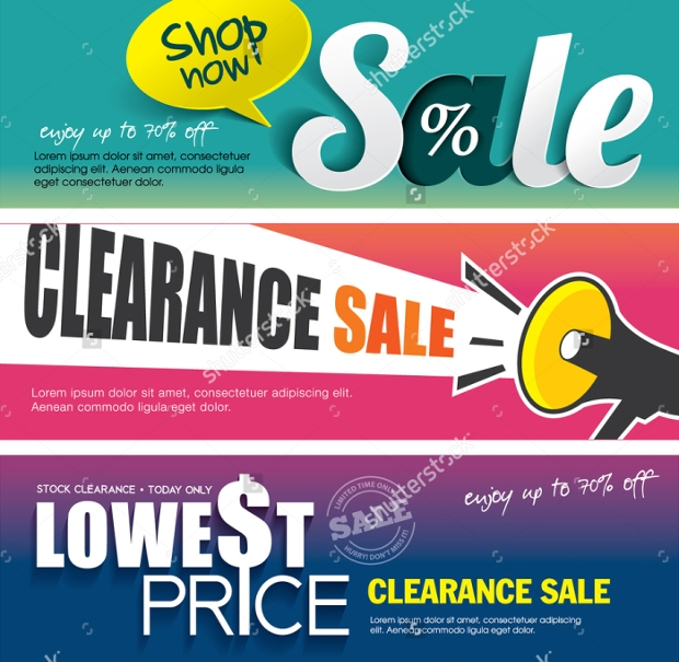 sale banners designs