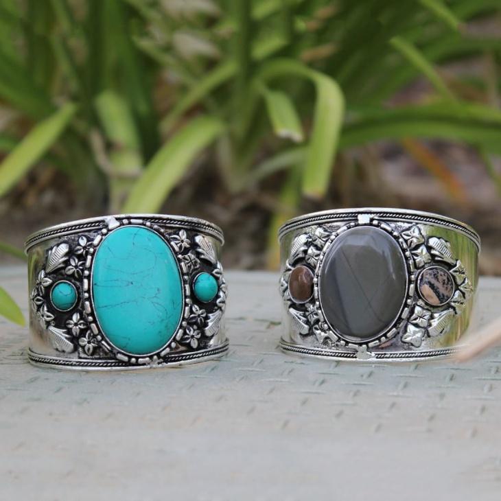 turquoise bracelet cuff