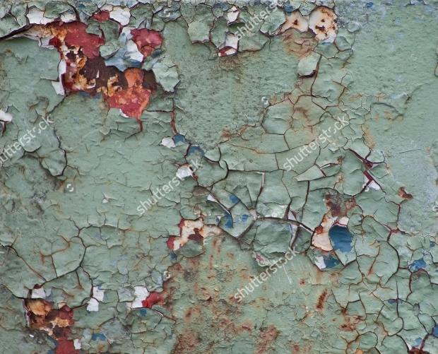 Old Peeling Paint Rust Texture