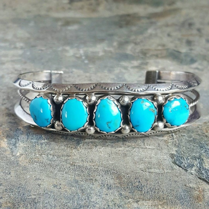 awesome turquoise cuff design