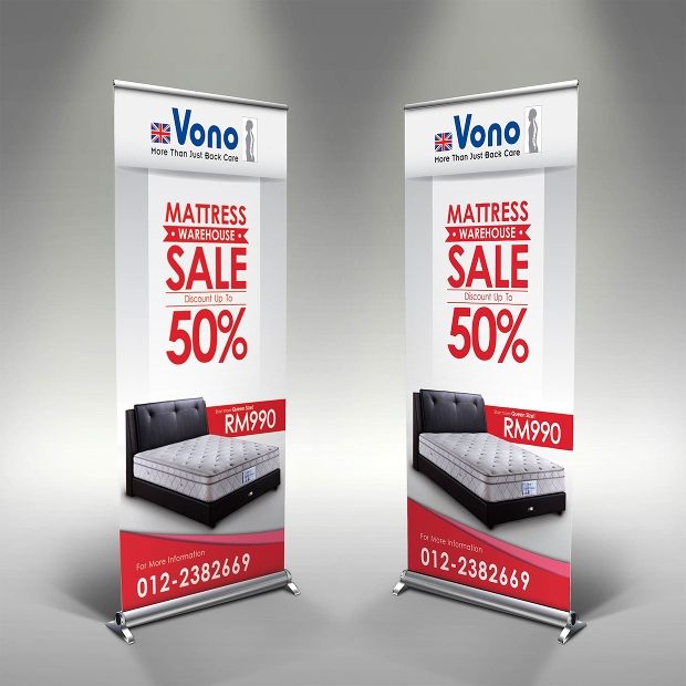Sales Rollup Banners