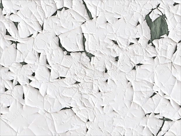 white peeling painted wall texture