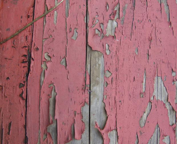 Pink Peeling Paint Texture