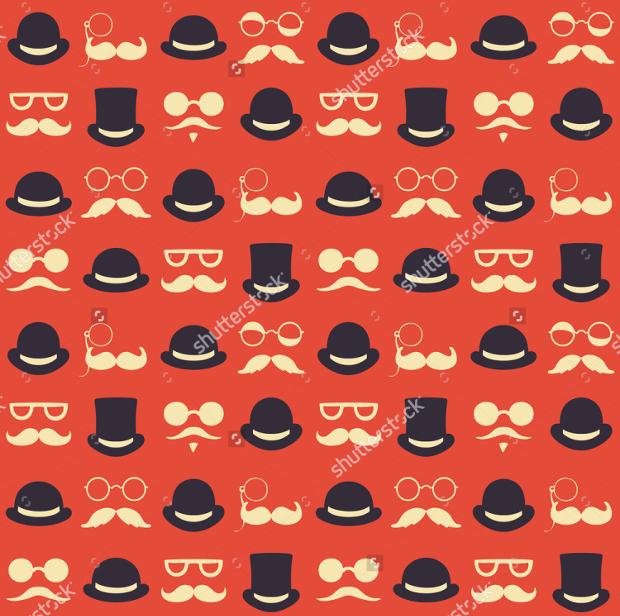High Resolution Hat Pattern