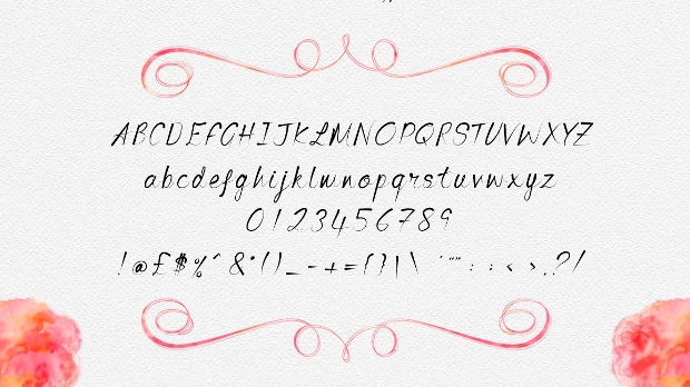 Brush Script Font Collection