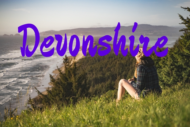 devonshire brush script font