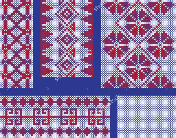 cross stitch embroidary pattern