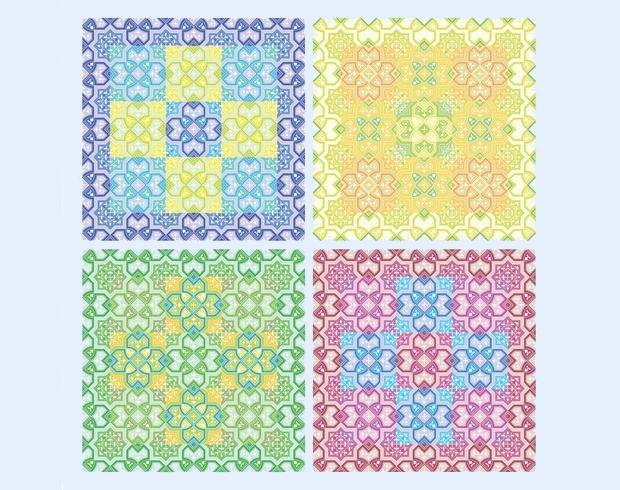 cross pattern design