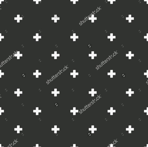 grunge cross pattern design