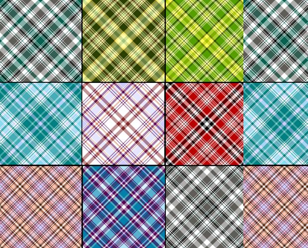 fabric cross pattern design