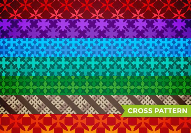 maltese cross pattern design