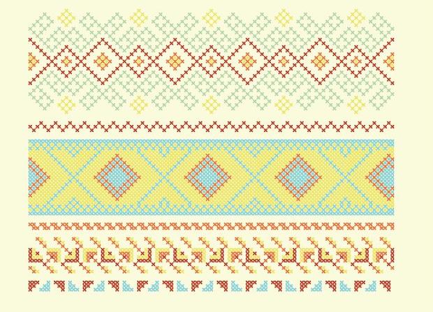 high quality cross stitch pattern