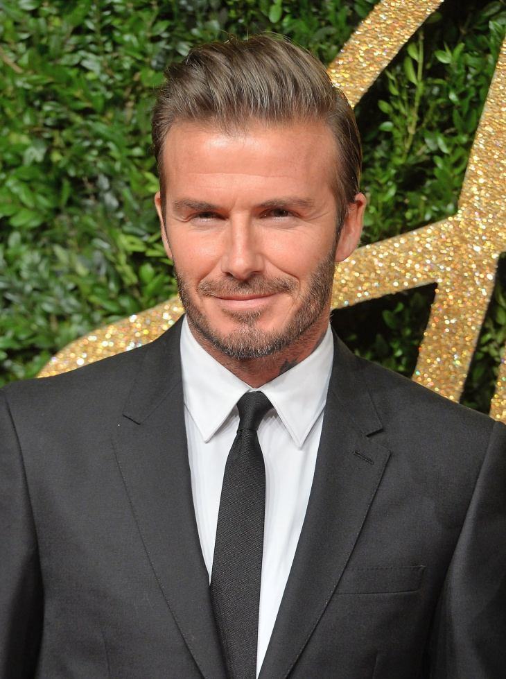 david beckham side brush up men hairstyle