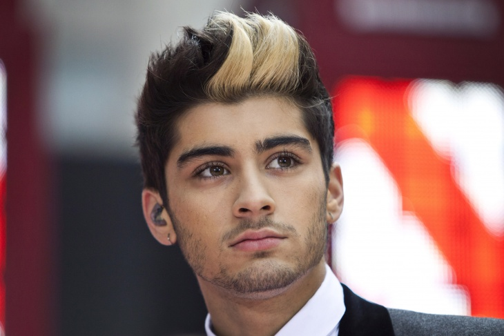 zayn malik brush up quiff haircut