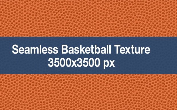 Seamless Basketball Ball Texture