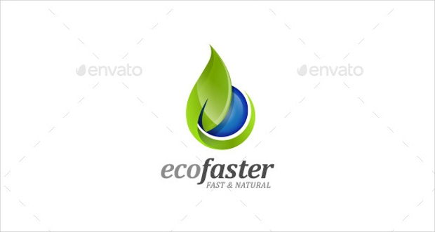 Ecofaster Nature Logo Design